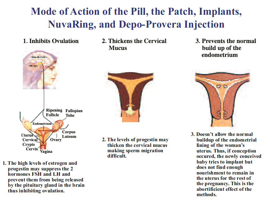 artificial methods of birth control family